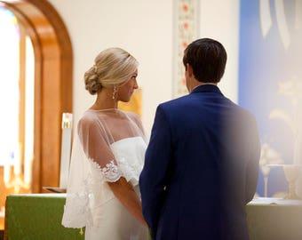 Wedding Lace Bolero, Lace Jacket Top, Lace Bolero, Bridal Top, Bolero, Wedding Bolero, Ivory Bolero, White Bolero, Off White Bolero,
