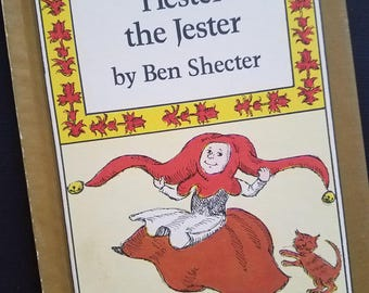 Hester the Jester I Can Read Book Hardcover Ben Shecter 1977 Weekly Reader Book OOP