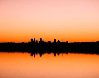 City Sunset, White Rock Lake, Dallas, TX
