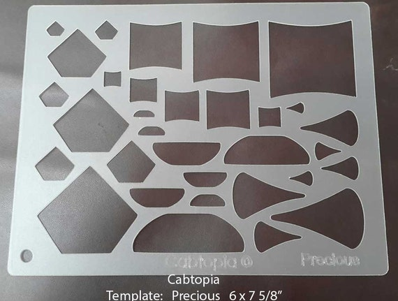 Template Precious...Cabochon, Lapidary, Jewelry from cabtopia on ...