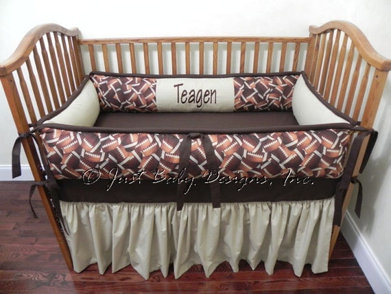 Football Baby Bedding Baby Boy Crib Bedding Set Sports Crib