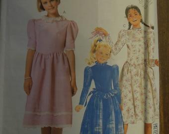 McCalls 2848, sizes 7-10, girls', dress, UNCUT sewing pattern, craft supplies