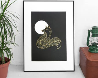 The Fox - Limited Edition Screen Print