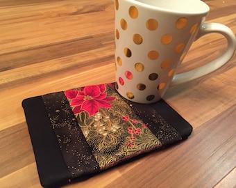 In the Hoop Mug Rug Instant Download Digital Embroidery File Design 5X7