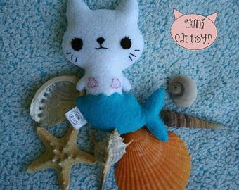Cat-Mermaid Cat toy , Cat-Mermaid Valerian Cat toy, Cat-Mermaid Catnip Toy
