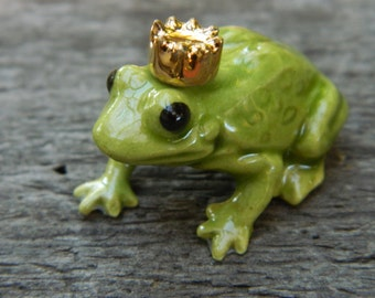 Charmant Fairy Garden Frog Miniature Fairy Frog Ceramic Frog Frog Figurine Toad  Fairy Pet Fairy Garden Supplies