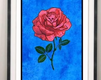 La Rosa / Rose / Flower / La Loteria