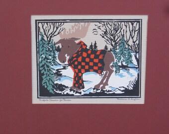 Buffalo Checks For Bruce by Barbara Fernekes Hughes