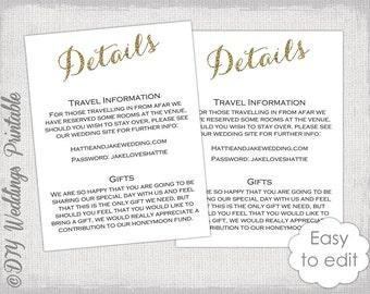 free enclosure card template