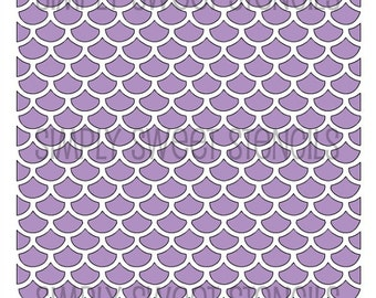 Fish Scale Pattern Stencil