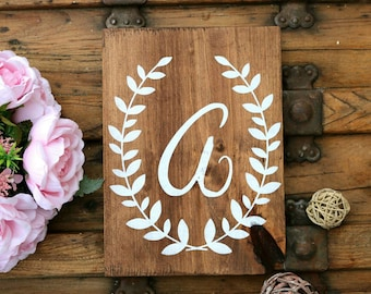 Wood sign for baby nursery, Nursery wall letters, Sign for kids room, New baby gift