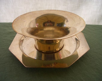 Vintage Silverplate Serving Bowl and Underplate