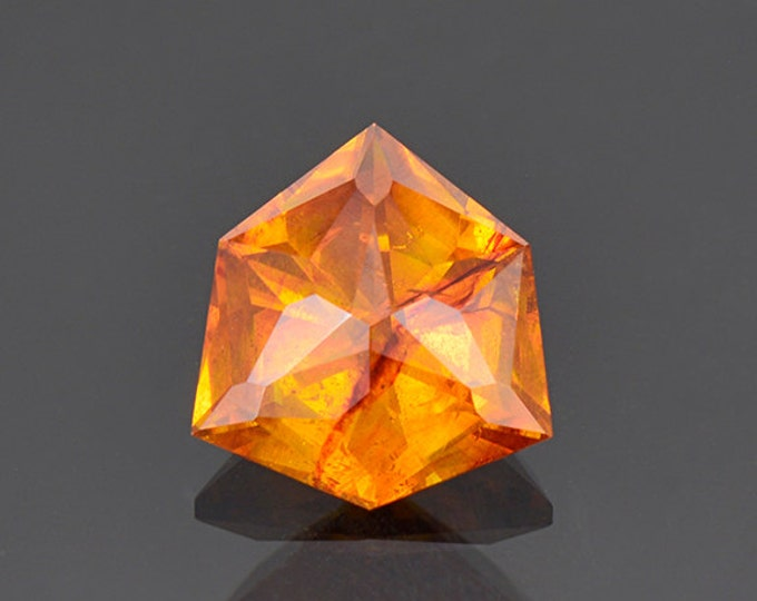 Beautiful Fiery Orange Sphalerite Gemstone from Spain 5.22 cts.