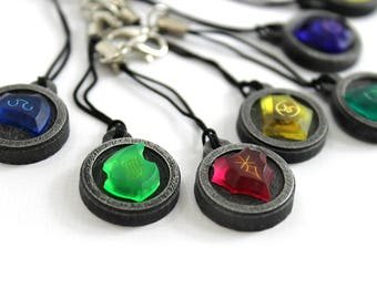 FFXIV Soul Crystal Phone Charm/Charm Necklace Job Stone FF14 Final Fantasy 14