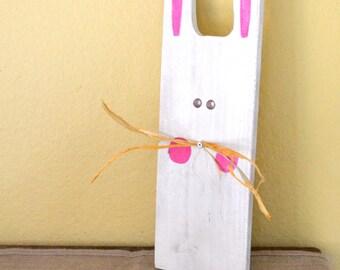 Primitive Easter Bunny Wall or Door Sign