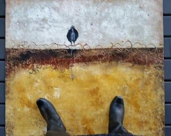 Skeleton Key Raven - Floor Covering