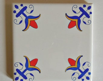 Delfts Blauwe Tegels : Delft blauw tegels handgemaakt etsy nl