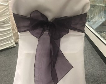 37 CLEARANCE  white folding chair covers