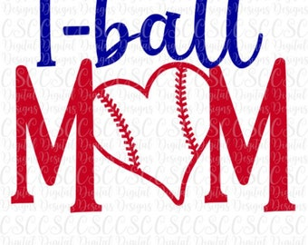 Tball Mom SVG, Tball Mom Cut File, Tball Cut File, Commercial Use Tball svg,  Digital File svg png dxf Buy 2 Get 1 Free