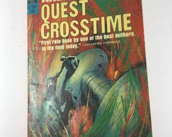 """Book, """"Quest Crosstime"""" by Andre Norton, 1965 Paperback"""