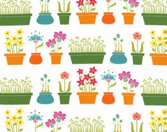 Lush by Patty Young for Michael Miller Flower Shop Multi 1 Yard Cut