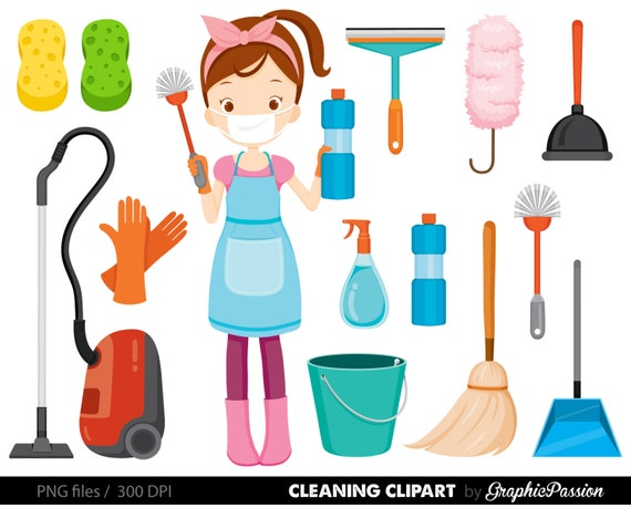 spring cleaning clipart vacuum clening clipart cleaning rh etsy com spring clean up clipart free spring cleaning clipart free