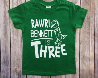 boys dinosaur birthday shirt, boys dinosaur tshirt, dinosaur birthday tee, toddler birthday, birthday gifts, birthday party, birthday ideas