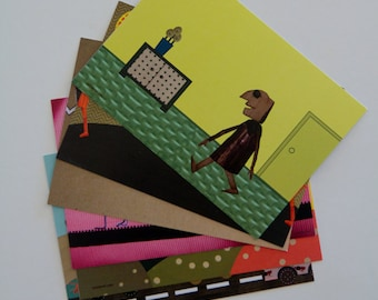 Greeting cards, Gift  cards - Fantasy Set