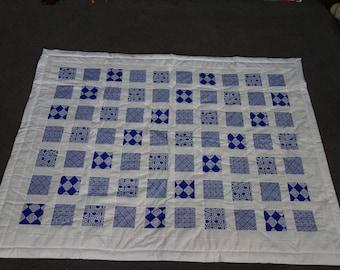 Celtic Blue and White Quilt