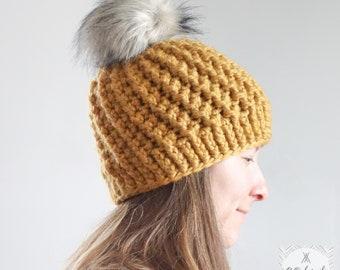 Chunky swirl hat
