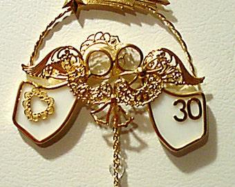 Match Made in Heaven (R) 30th Anniversary Ornament