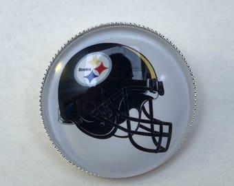 Pittsburgh Steelers Football Helmet Pin New