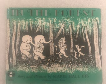Vintage In The Forest Storybook