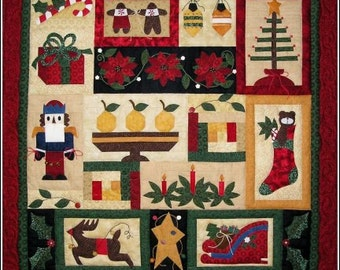 Christmas in Connecticut Holiday Quilt Pattern with Free Shipping
