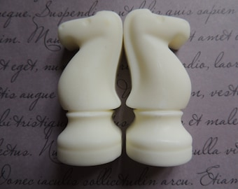 Pair of Knights Chess Soap