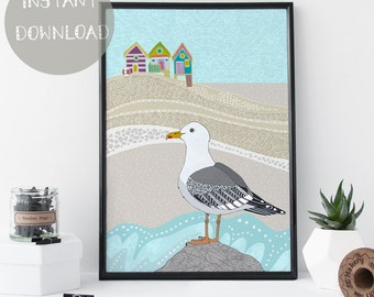 Nursery Wall Art, Printable Nautical Home Decor