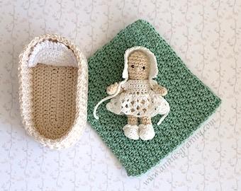 Crochet Baby Doll - PDF pattern