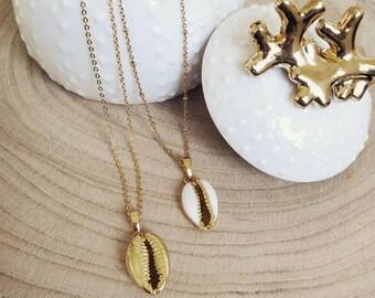 Cowrie necklace