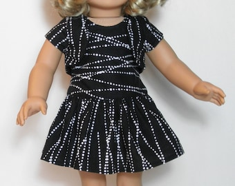 Little Black Dress for American Girl or other 18 Doll