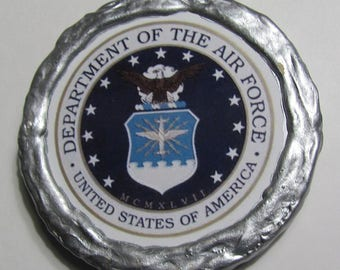 NEW!!! - U.S. Air Force Logo Magnet - Multi-Colored - Refrigerator Magnet