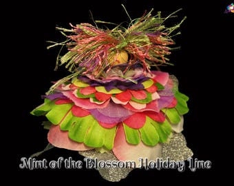 Mint of the Blossom Holiday Line, Fairy, Faerie, OOAK, Doll