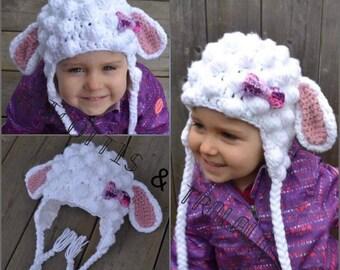 The sheep bellwether size enfants(2-3ans)