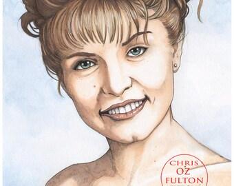 Twin Peaks Laura Palmer Poster Print by Artist Chris Oz Fulton