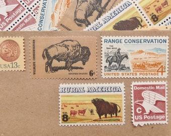 Vintage Stamp Sets - Rural America - 69 sets