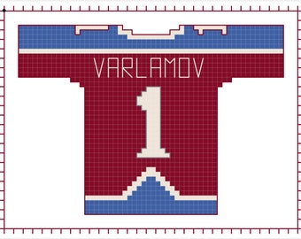 Semyon Varlamov Colorado Avalanche Home Jersey