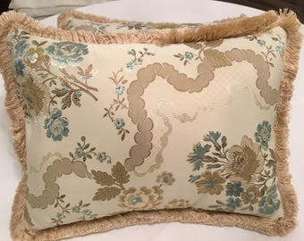 Luxury Silk pillow san Leucio