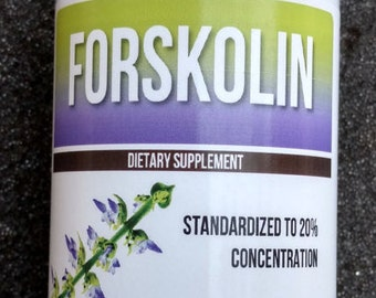 Forskolin Extract Pure 20% Dr Recommended 3 oz - 1 Bottle