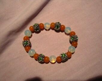 Bright spring bracelet