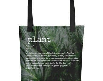 Plant Defined Tote bag