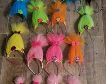 Troll Headbands